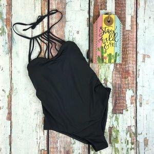 Billabong Black Swimsuit 1 Piece Sol Searcher